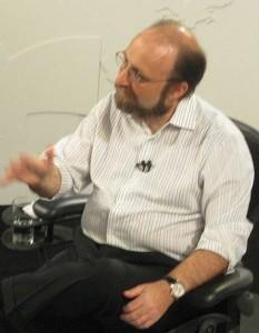 Miguel Nicolelis, a Brazilian neuroscientist